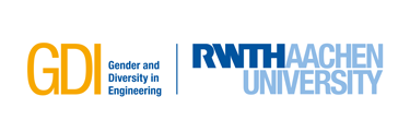 Logo of Research Group Gender and Diversity in Engineering