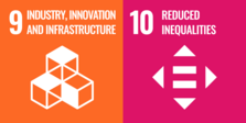 Sustainable Development Goals 9 und 10